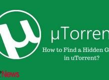 utorrent hidden game