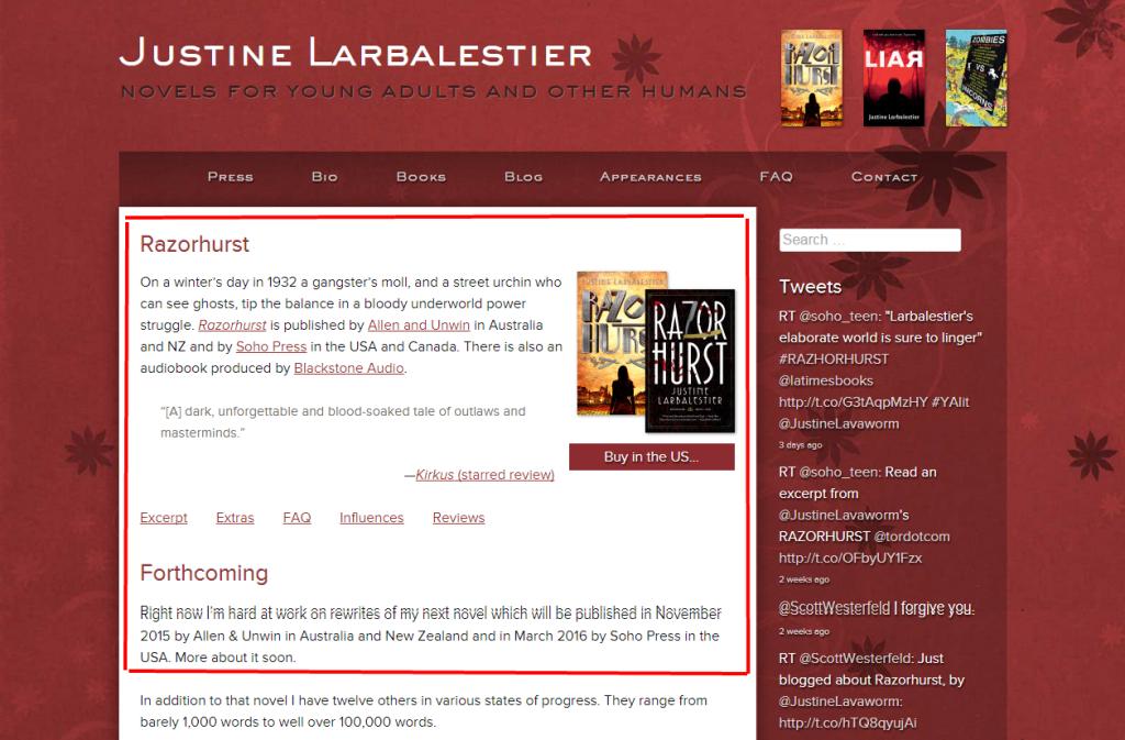 Justine Larbalestier - Copy
