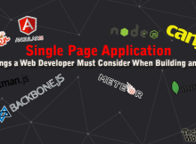 signle page application JS