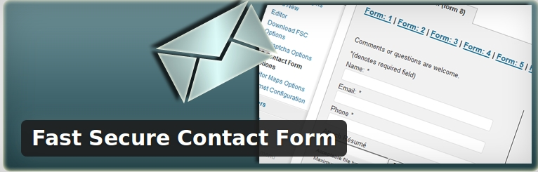 fast secure contact form plugin