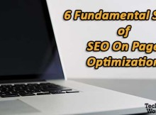 SEO on page optimization steps