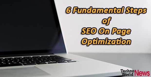 SEO on page optimization steps