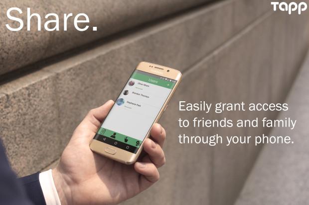 tapp social share