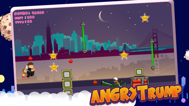 Angry Trump Game