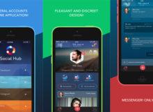 social hub iphone app