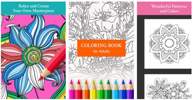 Pattern & Design Coloring Book