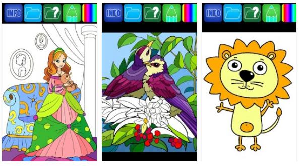 coloring expert book app