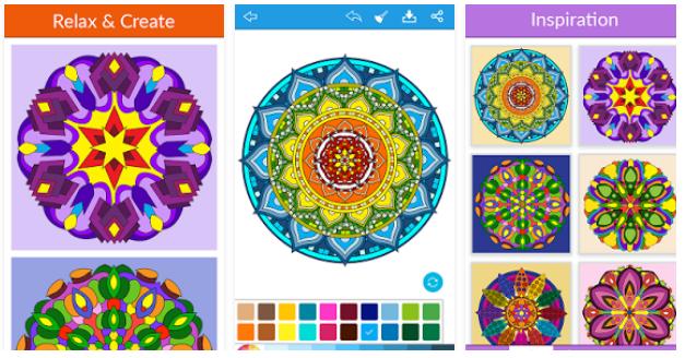 mandala coloring for adults