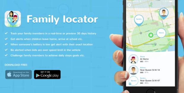 family gps locator