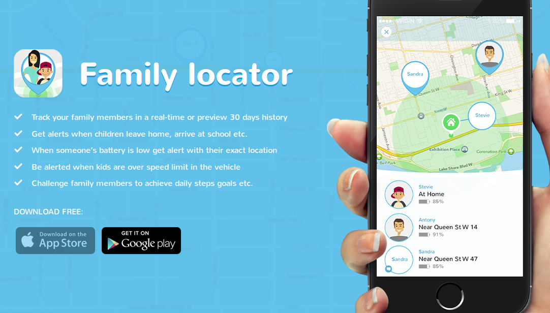 family gps locator