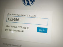 wordpress 2 factor authentication