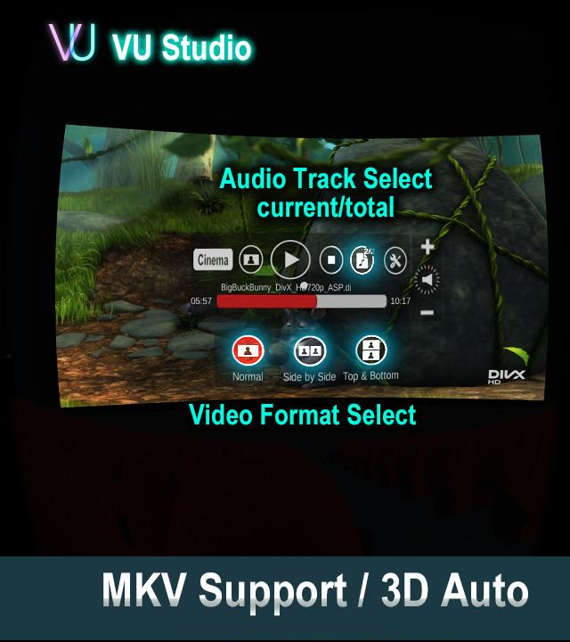 VU mkv support