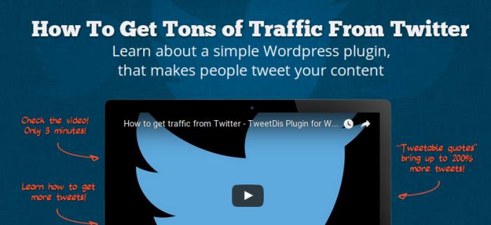 tweetdis wordpress plugin