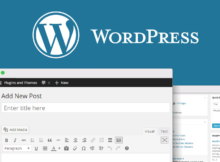 How to create WordPress blog