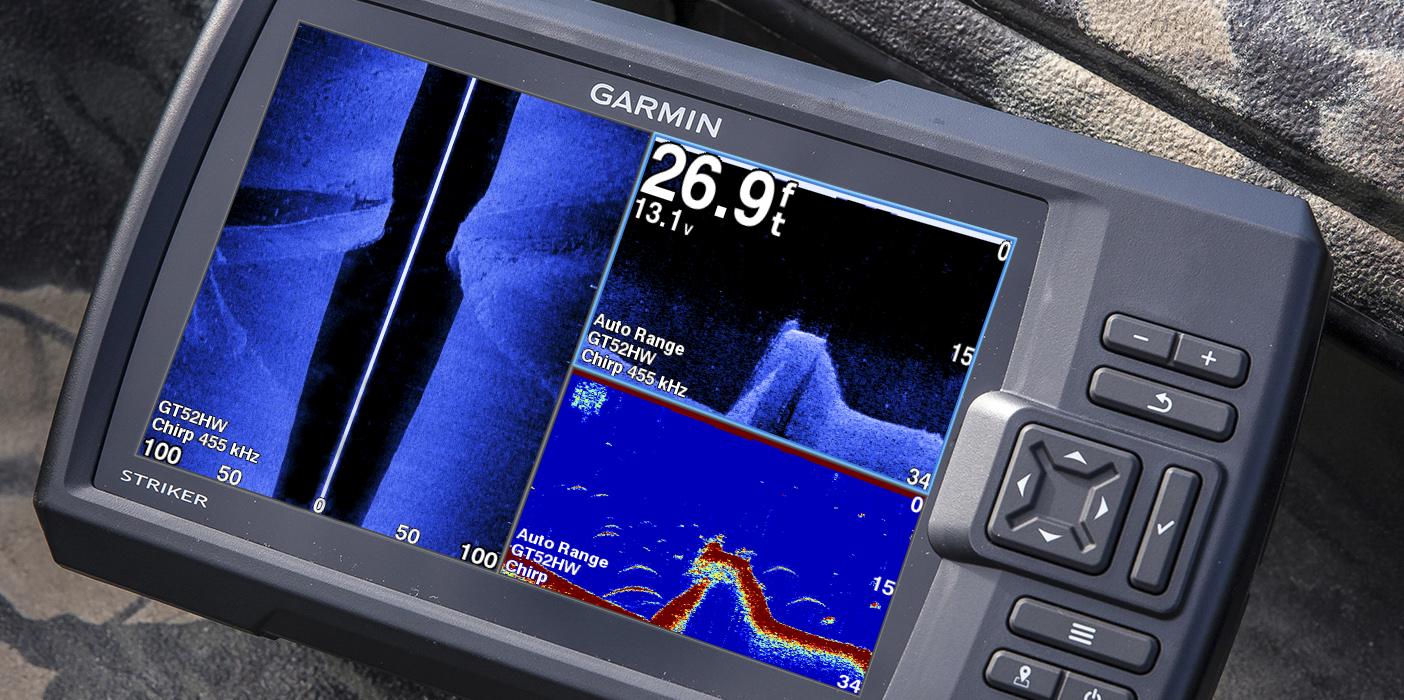 Fish Finder gadget Garmin Striker 7SV