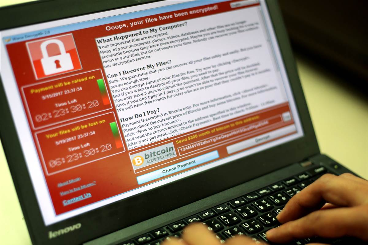 wannacry malware India