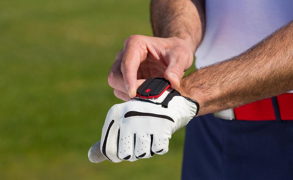 Sensor golf glove