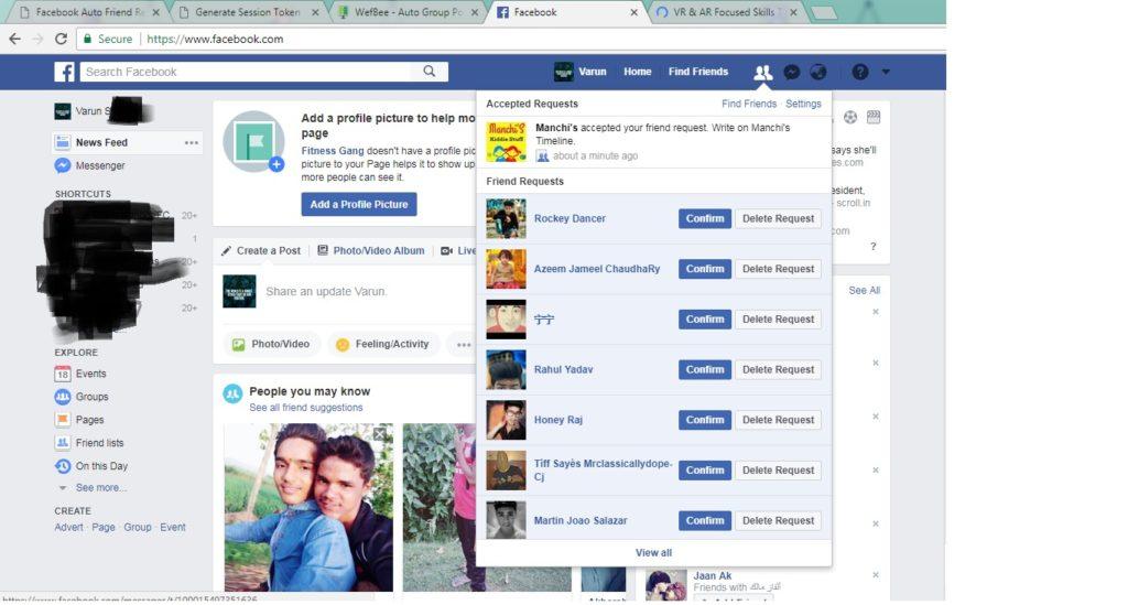 auto facebook followers