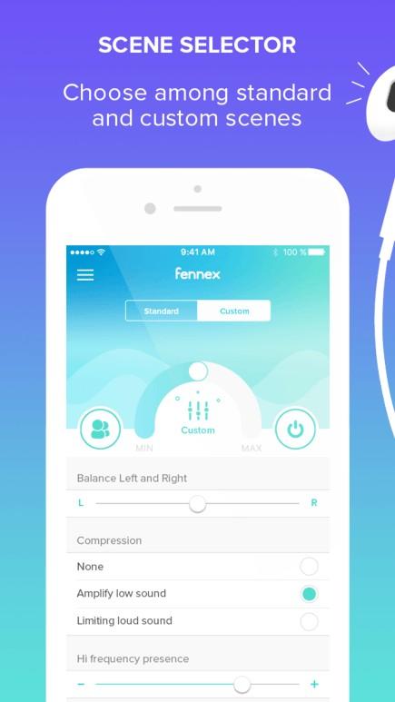 apple fennex app airpods augmemted hearing