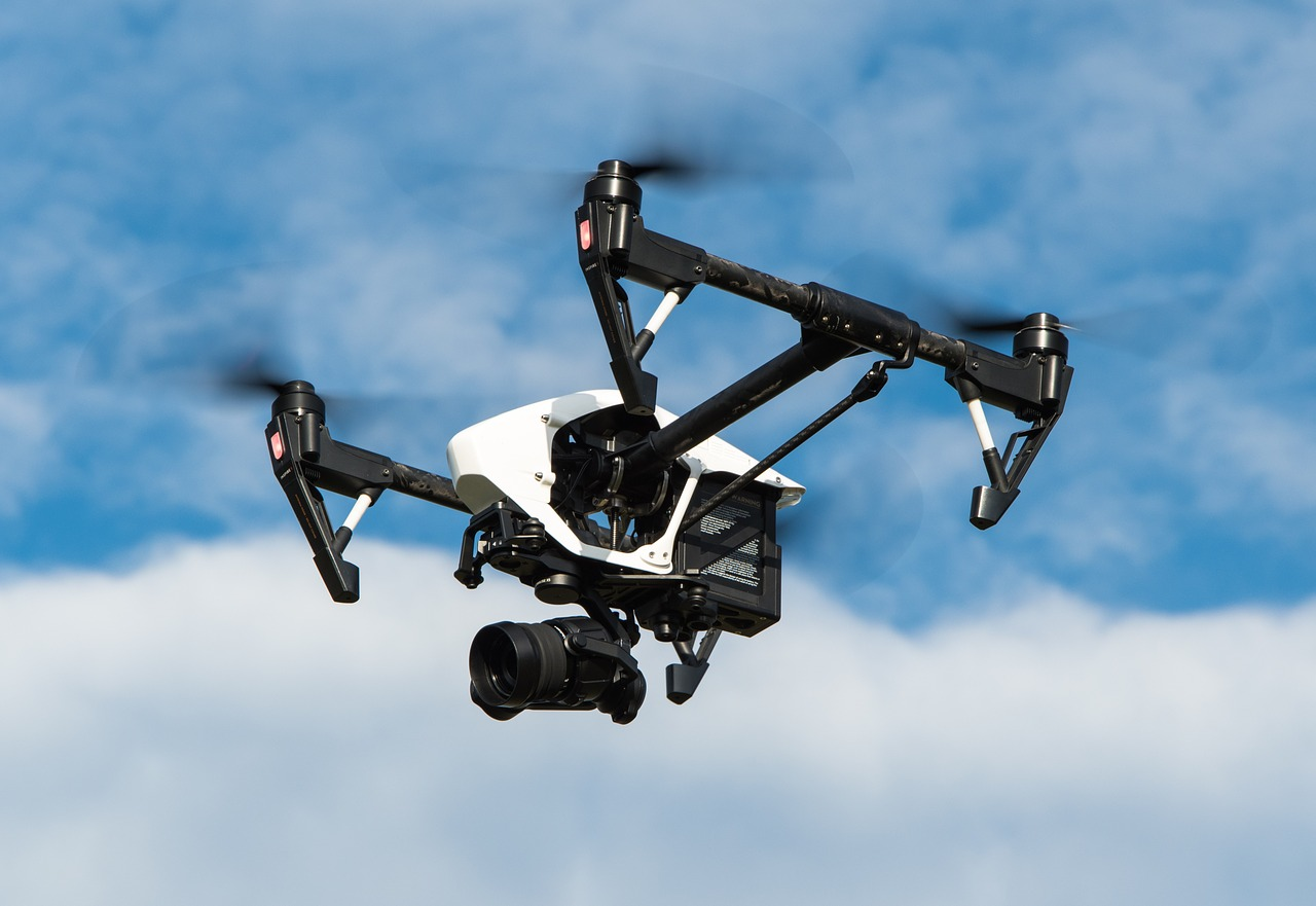 drone pests control