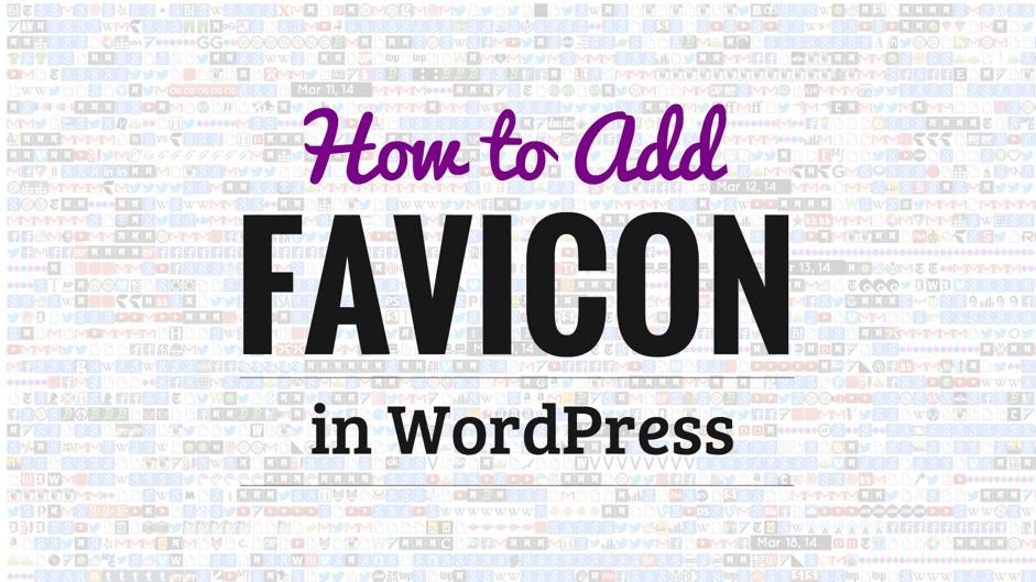 favicon wordpress sites