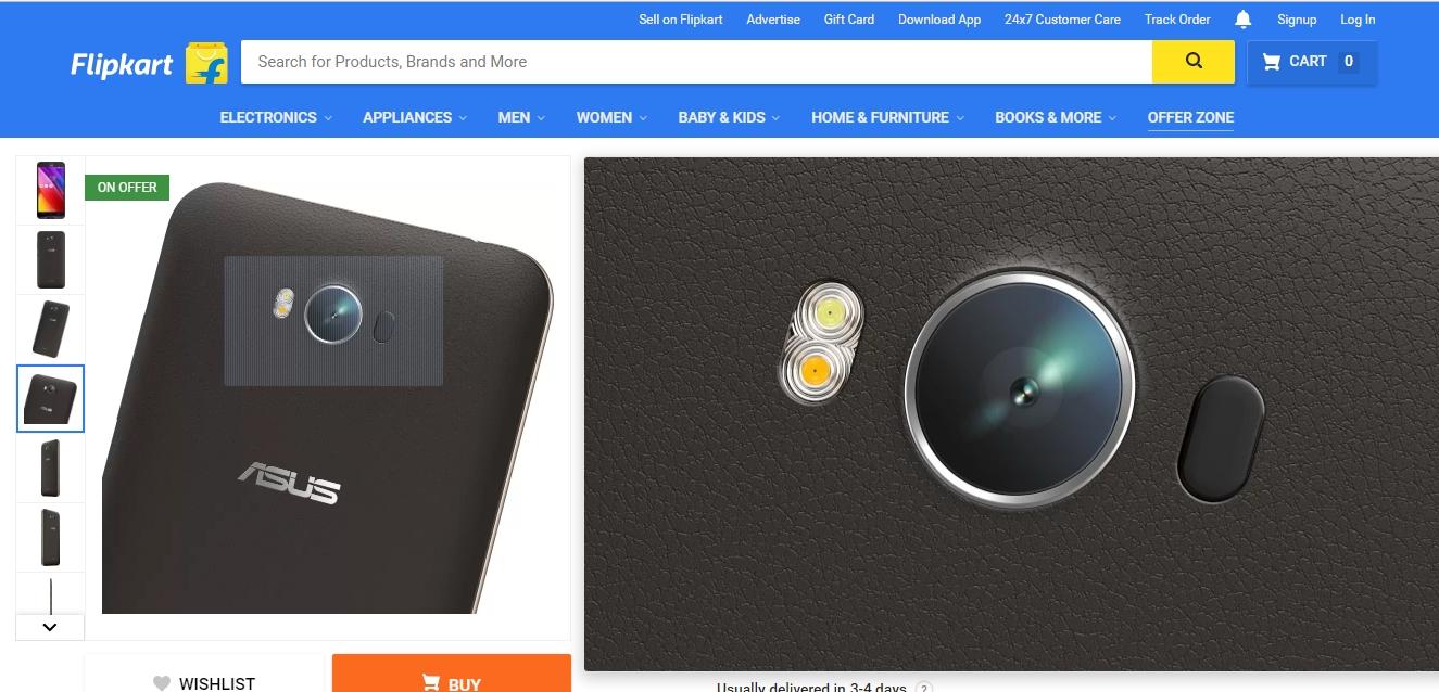 flipkart webdesign